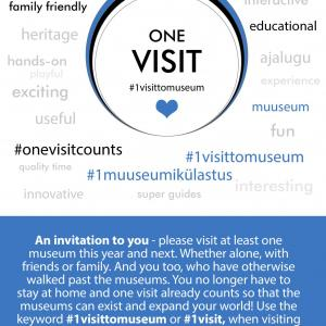 one visit poster
